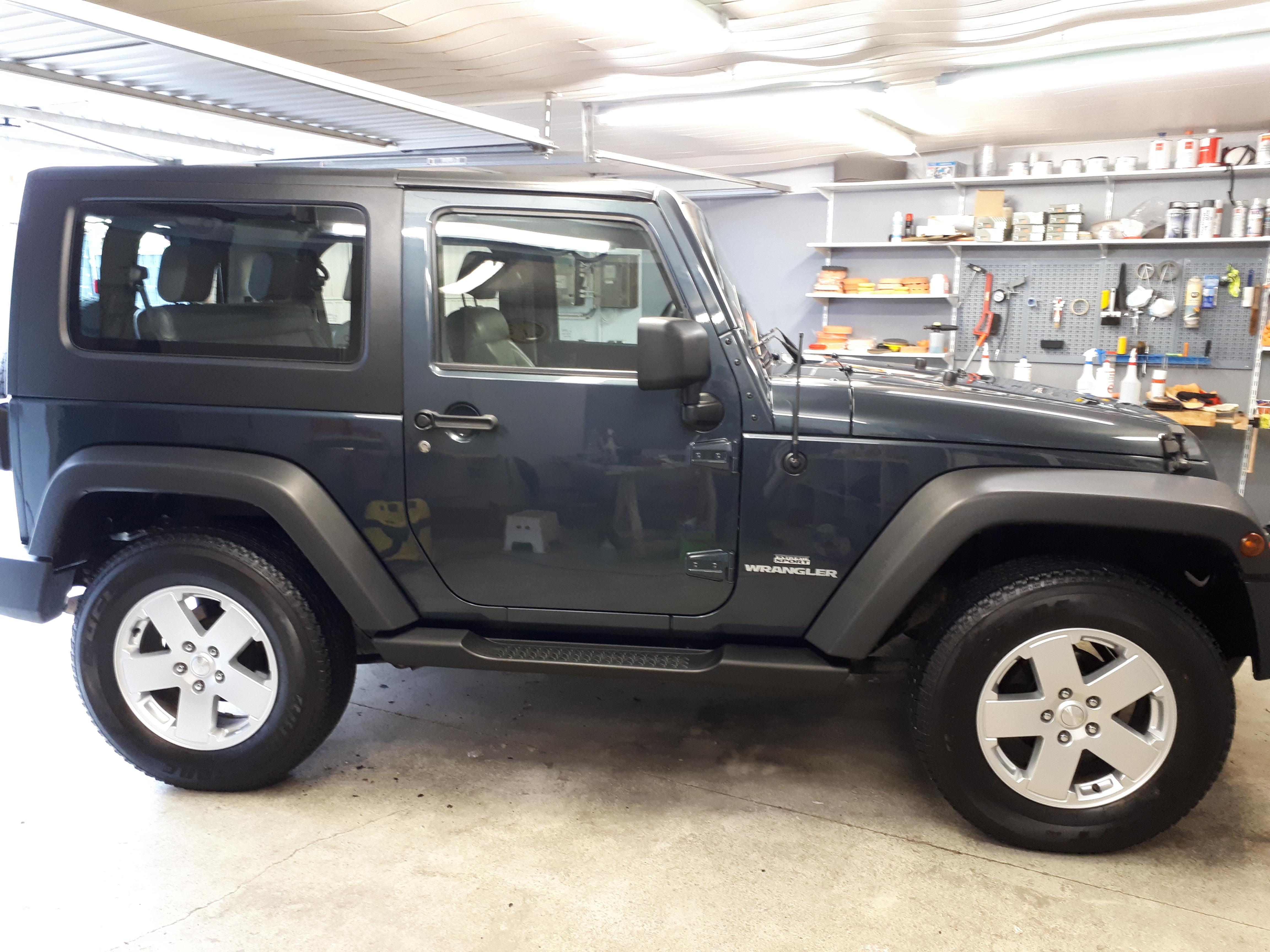 Autopflege Jeep