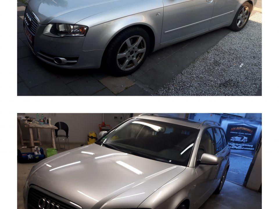 Audi A4 Autopflege